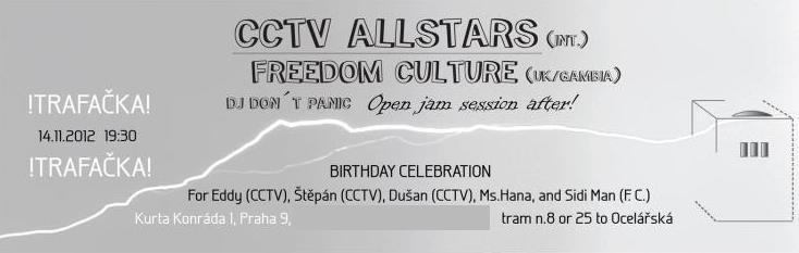 CCTV ALLSTARS / FREEDOM CULTURE