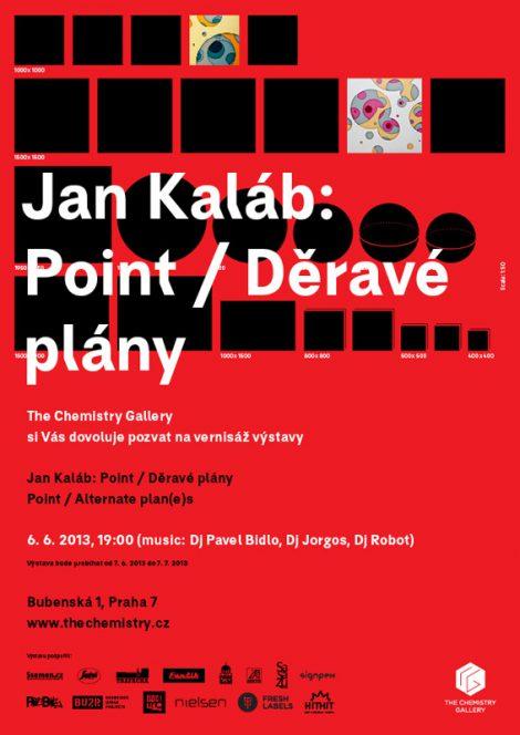 Pozvánka  normal - Jan Kaláb - Point Děravé plány