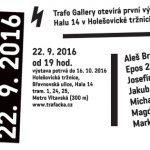 Zmrtvýchvstání znovuotevření Trafo Gallery